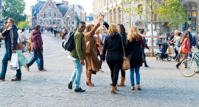 Student in Gent @ Korenmarkt
