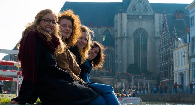 Student in Gent @ graslei